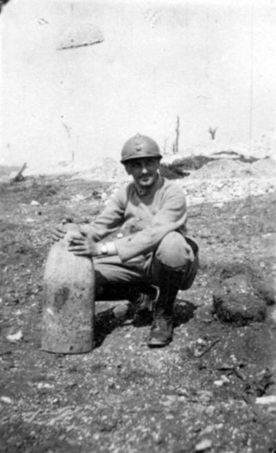Verdun 1916 1917 412th Infantry Regiment French Army Daniel Eugene
