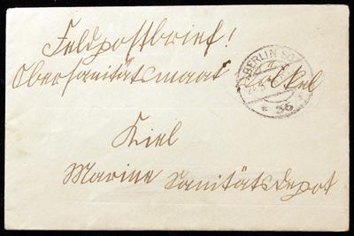 Image from object titled Brief der Tochter Herta Völkel