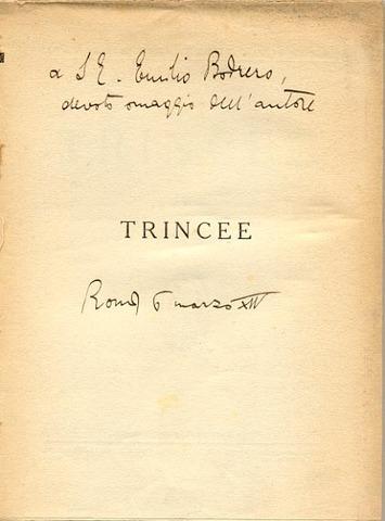 Trincee