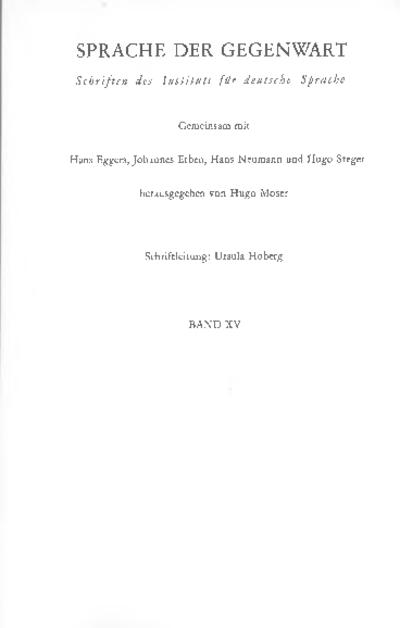 Image from object titled Die geistige Seite der Sprache und ihre Erforschung