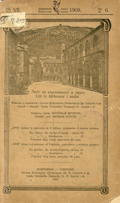 Srđ - 1908-03-31