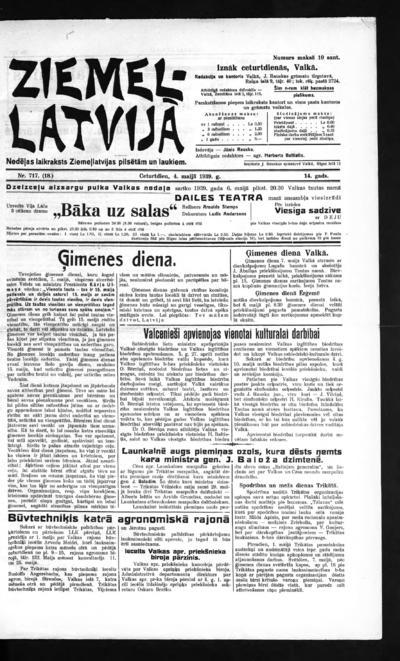 Ziemeļlatvija - 1939-05-04