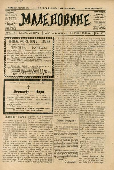 Male novine - 1902-06-01