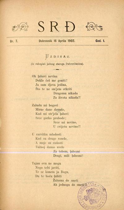 Srđ - 1902-04-16