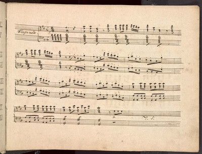 Sinfonia per il Piano Forte Del Sigre Leop. Koželuch.