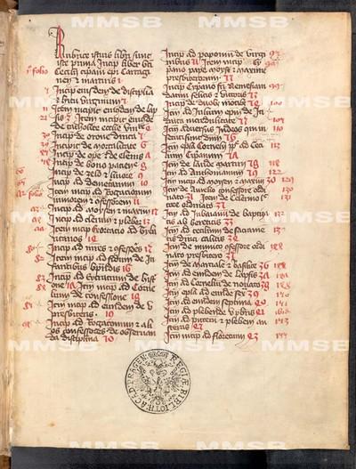 Opera varia, epistolae
