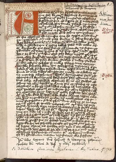 Rosarium (Rosarius), recensio brevior