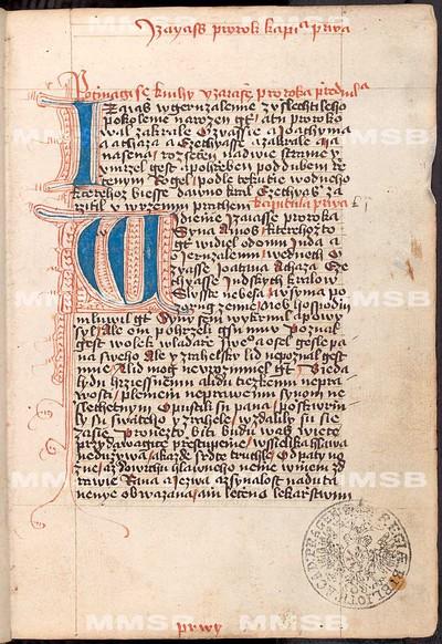 Bible, Starý zákon - část