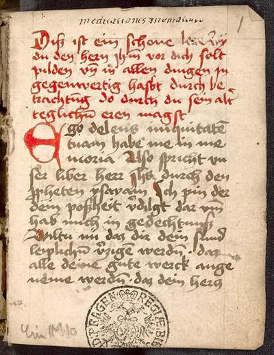 Geistliche Sammelhandschrift