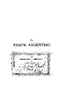 El Tempe argentino / por Marcos Sastre