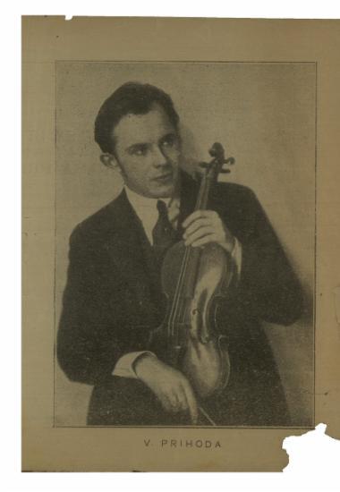 Recitals του διασήμου βιρτουόζου βιολιστού κου Vasa Prihoda