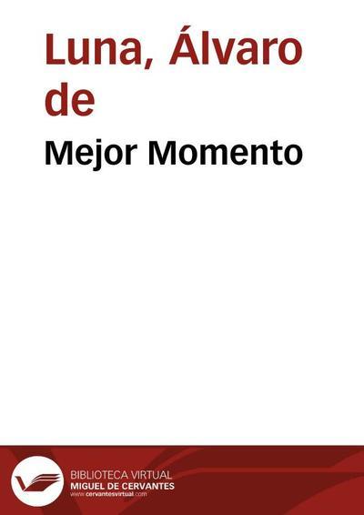 Mejor Momento