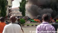 Tristeza e raiva na Nigéria após ataque contra centro comercial