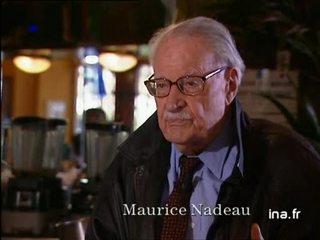 Maurice Nadeau : Serviteur
