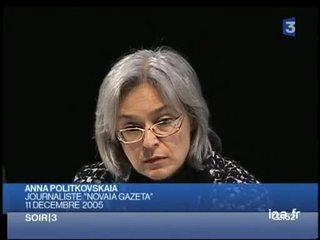 Anna Politkovskaïa, rare journaliste à couvrir la Tchétchénie, tuée à Moscou