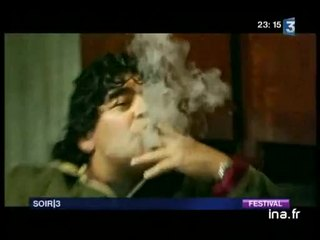 "Cannes : "" Maradona by Kusturica """