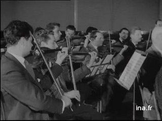 Un chef d'orchestre de 85 ans : Pablo Casals