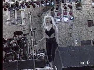 Nina Hagen en concert à Salon de Provence