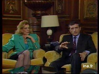 Duplex François Léotard et Mélina Mercouri