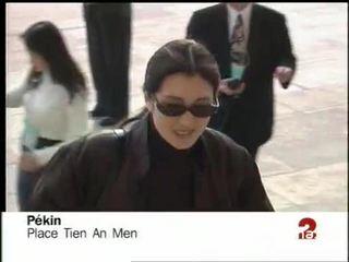 CHINE - GONG LI AU CONGRES CHINOIS