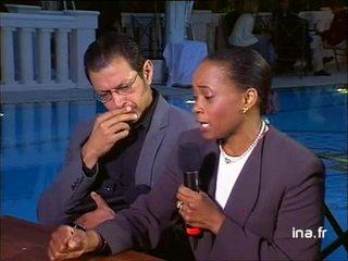 Cannes avec Barbara Hendricks et Jeff Goldblum