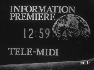 Information Première : émission du 7 mai 1971