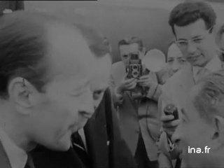 André Malraux à l'Acropole