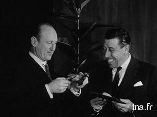 Prix de l'humour cinématographique : Fernandel et Bourvil