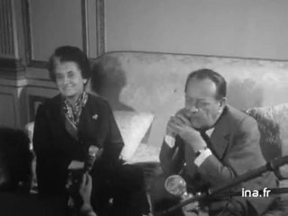 Entretien entre Indira Gandhi et André Malraux