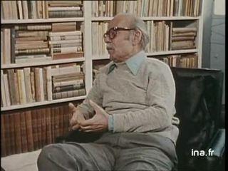 Ernesto Sabato un écrivain argentin à Buenos Aires