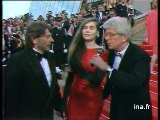 Ouverture du festival de Cannes 1990