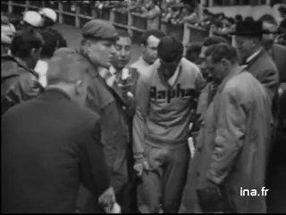 SIMPSON et GODDET à l'arrivée de Paris Roubaix