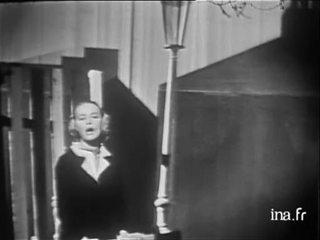 """Jeanne Moreau """"il n'y a pas d'amour heureux"""""""