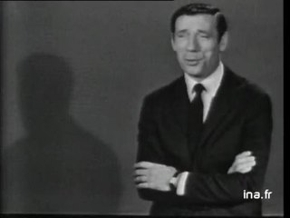 """Yves Montand """"Page d'écriture"""""""