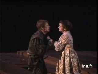 """Patrice Chéreau met en scène """"Hamlet"""" de Shakespeare au festival d'Avignon"""