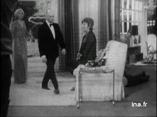 """Tournage du film """"Jo"""" avec Louis de Funès"""