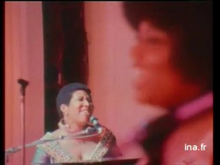 Aretha Franklin à l'Olympia