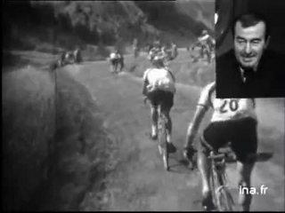 La montée au col de l'Izoard en 1954 commentée par Louison BOBET