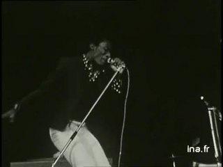 Jimmy Cliff sur la scène du Palais des Sports de Paris