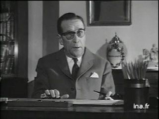 Georges Simenon à propos de la notion de morale chez le policier