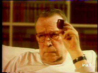 Témoignage sonore de Georges Simenon sur Jean Gabin
