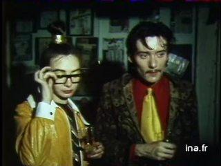 Le groupe Rita Mitsouko lors d'un radio crochet