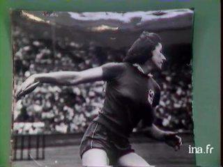Micheline Ostermeyer se souvient de ses succès aux Jeux Olympiques de 1948.