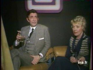 """Jean-Claude PASCAL et Danielle DARRIEUX à propos de la pièce """"Les amants terribles"""""""