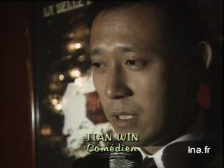 JIANG Wen, acteur, à propos de son métier
