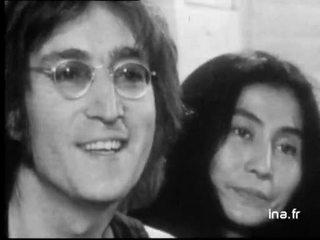 John Lennon et Yoko Ono à propos de leur musique et leur engagement politique : 2ème partie