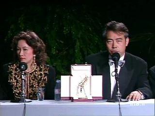 Conférence de presse avec CHEN Kaige, Leslie CHEUNG et HSU Feng
