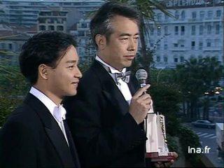 """CHEN Kaige et Leslie CHEUNG à Cannes à propos de """"Adieu ma Concubine"""""""