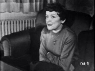 Pierre Tchernia chez Edith Piaf