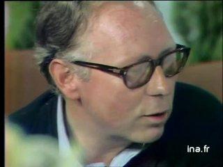Interview de François Nourrissier, membre du jury
